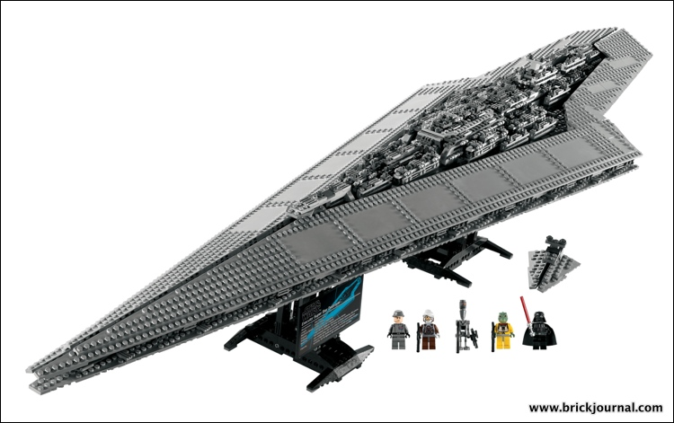 star destroyer with figures