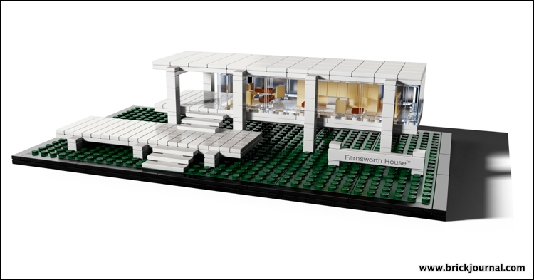Modern Architecture Lego brickjournal