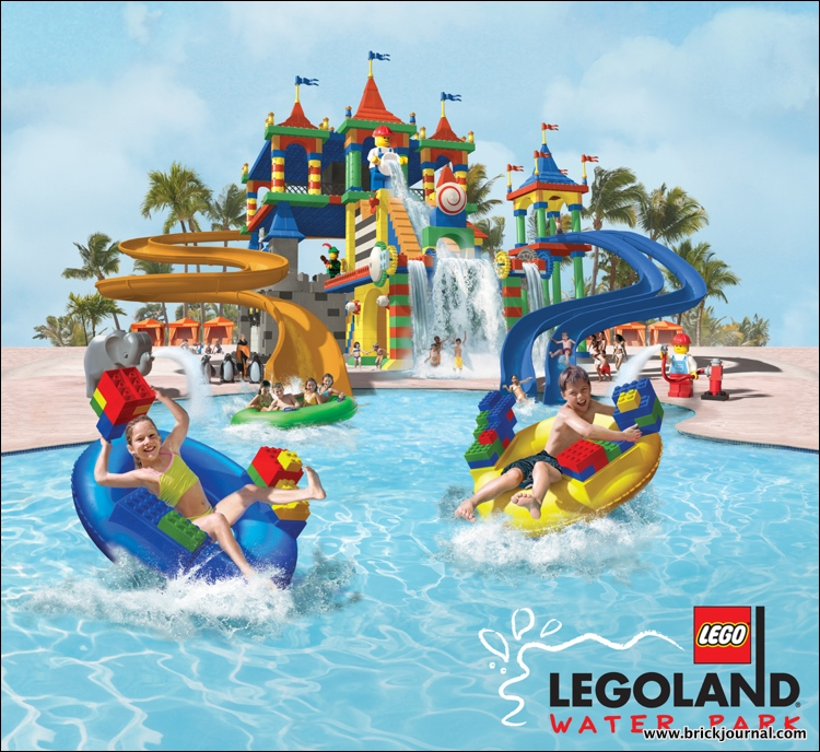 LEGOLAND Water Park art