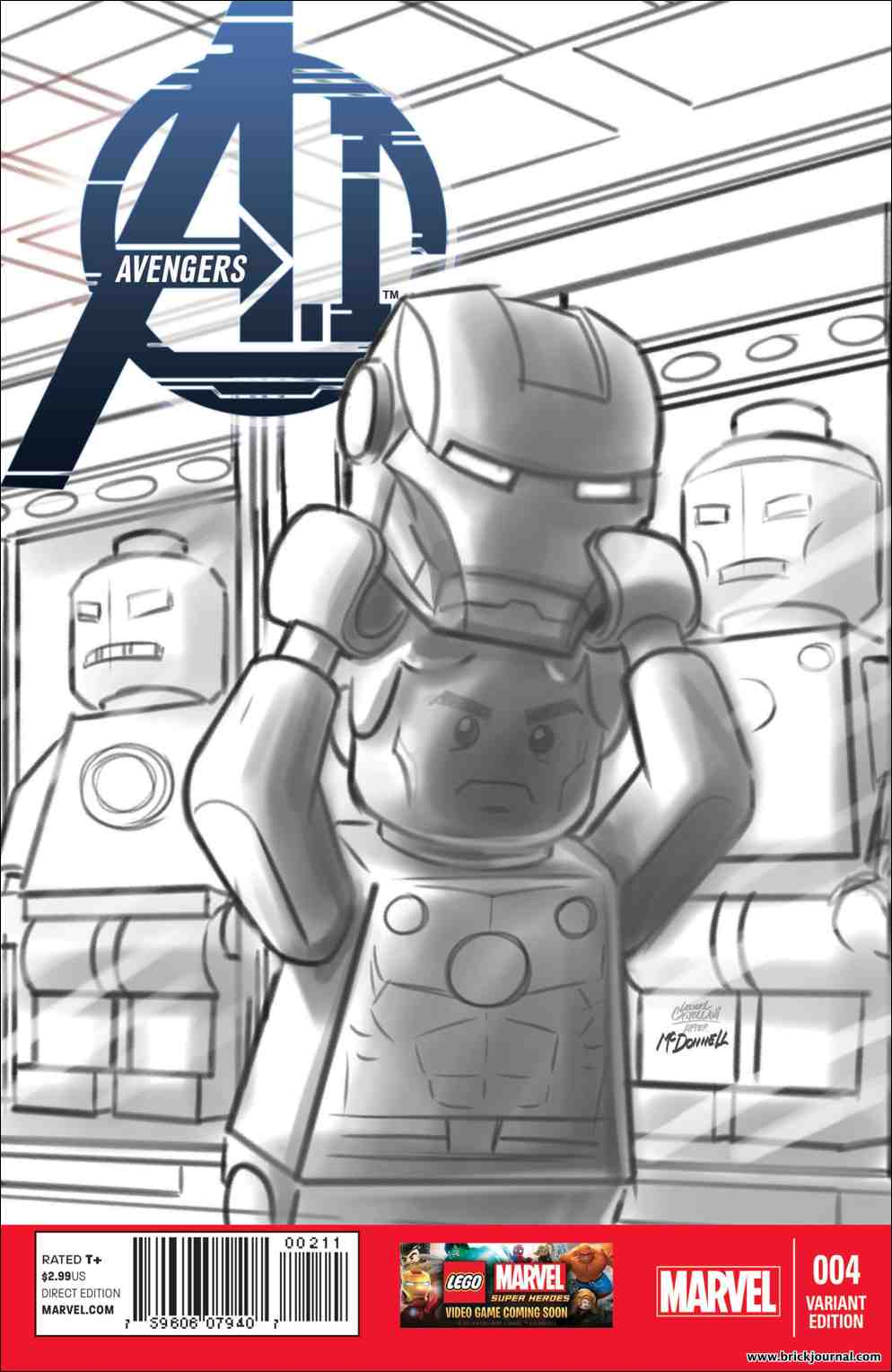 Avengers Iron Man sketch